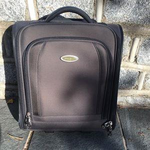 Eddie Bauer overnight travel luggage with wheels